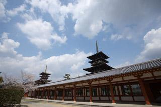 224 西の京 春の薬師寺