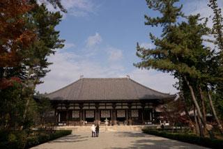 376 西ノ京に唐招提寺を訪ねる