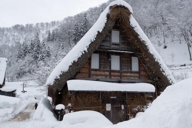 菅沼集落:「塩硝の館」加賀藩の直轄事業、黒色火薬の原料「塩硝」造りは当時白川郷、五箇山の主産業の一つだった。
